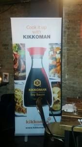 Kikkoman banner advertising